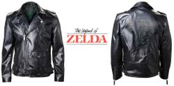 The Legend of Zelda - Triforce - Bikerjacke Bild 4