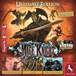 Mage Knight - Ultimate Edition - Grundspiel Deutsch Bild 4
