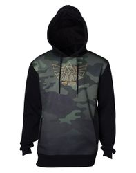 The Legend of Zelda - Blackwoods Camo - Hoodie Bild 1