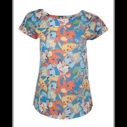 Pokemon Starter Girl T-Shirt.