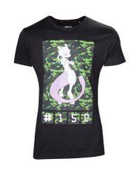 Pokemon Mewtwo T-Shirt.
