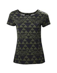 The Legend of Zelda Green Black Hyrule Girl T-Shirt.