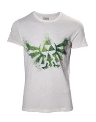 The Legend of Zelda Hyrule Nappy T-Shirt.