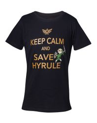 The Legend of Zelda Keep Calm Kids T-Shirt.