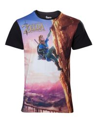 The Legend of Zelda Breath of the Wild T-Shirt.