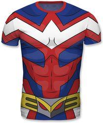 My Hero Academia - All Might Cosplay - T-Shirt Bild 2