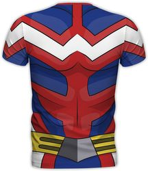 My Hero Academia - All Might Cosplay - T-Shirt Bild 3