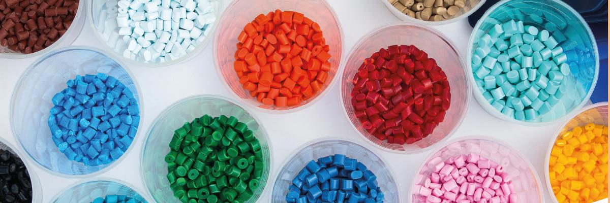 Griffe aus Kunststoff