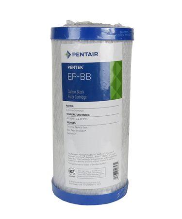 """Pentair EP-BB Aktivkohleblock 5 µm Wasserfilter 9-3/4"""" – Bild 1"""