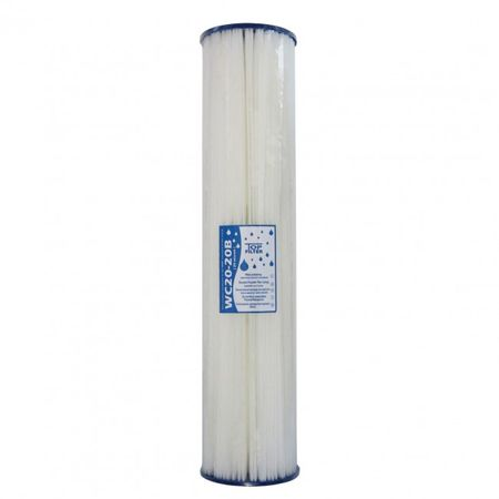 "20"" (Zoll) Polyester Mehrwegkartusche Faltenfilter Big Blue 20 µm – Bild 1"