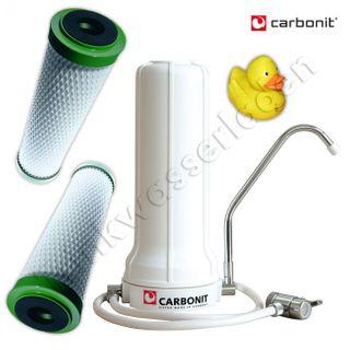 Carbonit Sanuno Basic Sparset - Gehäuse, 2x NFP Premium, Schlauch + GRATIS Ente – Bild 1