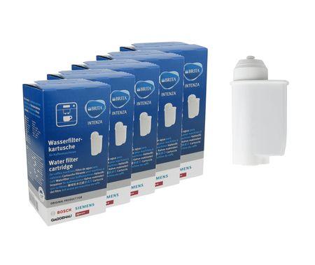 5x Original Brita Intenza Wasserfilter 467873 f. Bosch, Siemens, Gaggenau, Neff TZ70003 – Bild 1