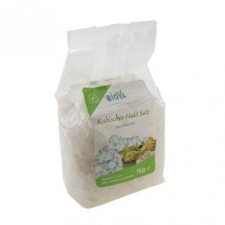 Biova Kubisches Halit Salz - Granulat - 1 KG (2 - 5 mm) Naturbelassen Granulat