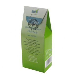 Biova Kubisches Halit Salz - Fein - 0,2 KG (1 KG = 12,95 €) 0,3-0,5 mm Feinstreu – Bild 4