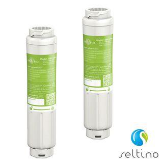 2x Seltino SBH-Ultra Wasserfilter Kühlschrankfilter komp. Ultra Clarity 644845, 643046, 740572, 643019 (UV-Steril verpackt)