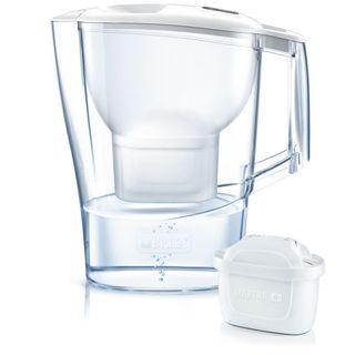 Brita Tischwasserfilter Kannenfilter fill&enjoy Aluna 2,4 L Cool weiss