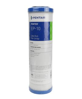 "Pentair / Pentek EP-10 Carbon Block Filter Cartridge 9-3/4"" - 5 µm"