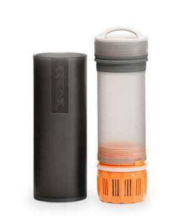Grayl Reisefilter Flasche - Outdoor - Wasserfilter Ultralight schwarz