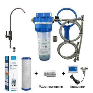 """TWL Vario Filtersystem """"Safe-Premium"""" mit UT-380 Wirbler, Primus SD und Aquastop"""