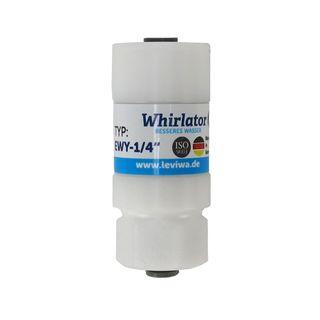 """Whirlator Verwirbler EWY-1/4"""" für Kunststoffschlauch von Leviwa Wasserwirbler"""