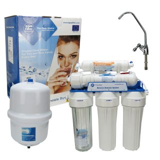 Aquafilter Umkehrosmose 5 Stufen - Reverse Osmosis - Wasserfilteranlage - Untertisch – Bild 1