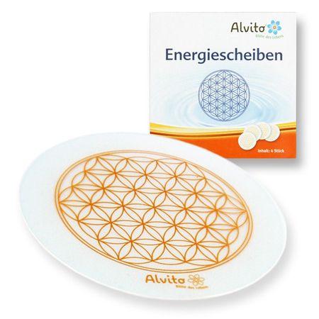 Alvito Energiescheiben Lebensblume 4er Set – Bild 1
