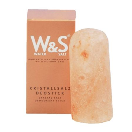 Kristallsalz Deostick - Wasser&Salz - reiner Salzkristall geschliffen - naturbelassen – Bild 1