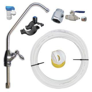 Umkehrosmose 5 Stufen - Reverse Osmosis - Wasserfilteranlage - Untertisch – Bild 2