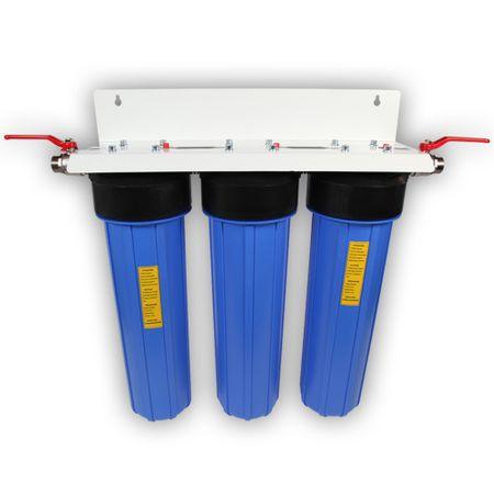 Eisenfilter Spezial 20'' Zoll Hauswasseranlage 3 stufig – Bild 1