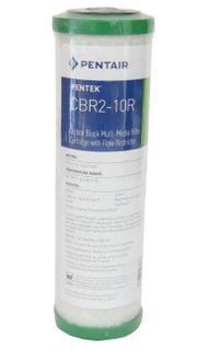 """Aktivkohleblockfilter 9-3/4"""" 0,5 µm von Pentek / Pentair CBR2-10R - USA – Bild 1"""