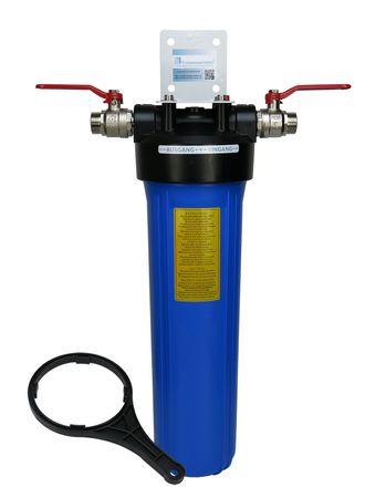 """Hauswasserfilter 20"""" Gehäuse Big Blue für u.a. Sediment, Aktivkohle, Eisen – Bild 1"""