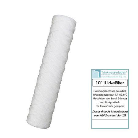 """Sediment Vorfilter 10"""" gewickelt Grobfilter – Bild 1"""
