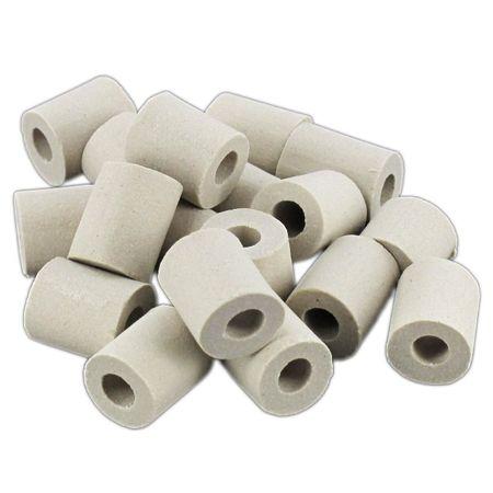 EM Keramik graue Pipes ca. 100 g - Effektiven Mikroorganismen gebrannt - Wasserbelebung (1 KG = 99 €) – Bild 1