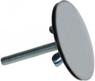 Blindstopfen für Spülbecken - Chrom glänzend - Spülbecken Verschluß