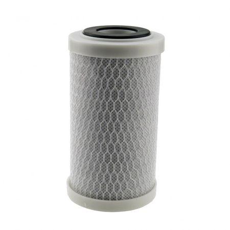 """Aktivkohleblock 5"""" Hochwertiger Trinkwasserfilter aus Kokussnussschale – Bild 1"""