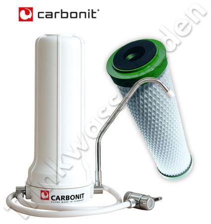 Carbonit Sanuno Classic Auftischfilter, mit NFP Premium – Bild 1