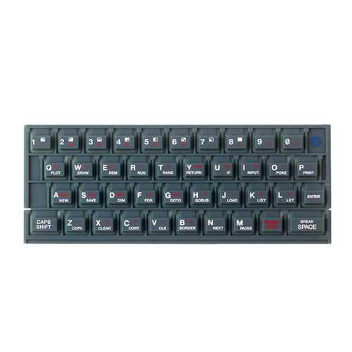 Gummimatte in verschiedenen Farben für Sinclair ZX Spectrum 16k / 48k – Bild 4