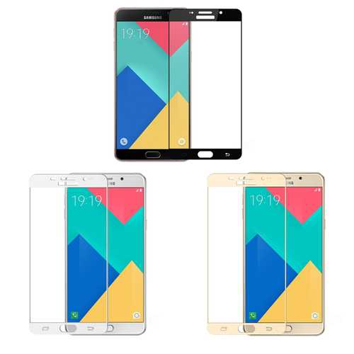 Tempered glas / Burst screen safety glas 9H for Samsung Galaxy A3 (A310) 2016 – Bild 1