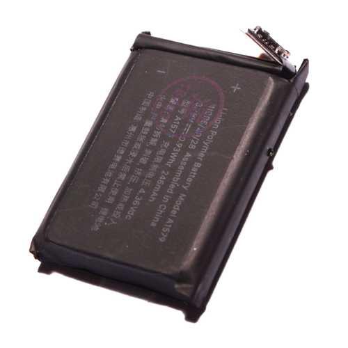 Akku für Apple Watch (1G) 42mm 1. Generation A1554 ersetzt A1578 – Bild 1