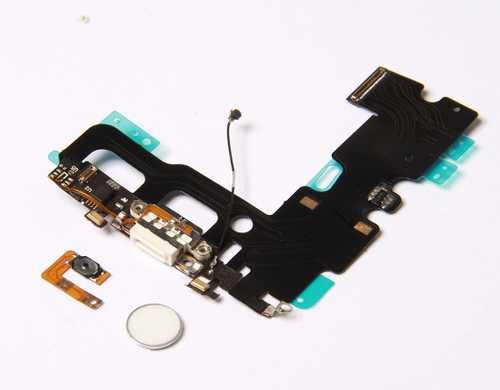 Ladebuchse NEU mit Home-Button für iPhone 7 (problemloser Austausch, volle Button-Funktion) – Bild 3
