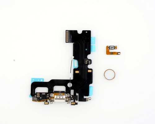 Ladebuchse NEU mit Home-Button für iPhone 7 (problemloser Austausch, volle Button-Funktion)