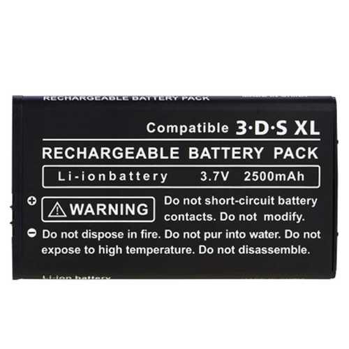 Batterie passend für Nintendo 3DS XL, 2000 mAh mit Schraubendreher - kompatibel SPR-003 – Bild 3