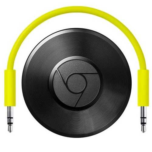 GOOGLE CHROMECAST AUDIO: STREAMING-BOX FÜR DIE STEREOANLAGE