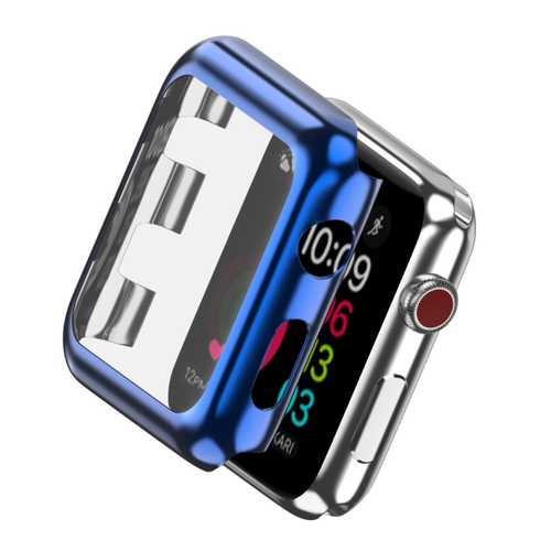 Ultra-thin protection case bumper cover with tempered glas for Apple Watch Series 1 2 3 – Bild 8