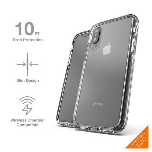 Gear 4 Piccadilly Clear Case with Advanced Impact Protection [ Protected by D3O ], Slim, tough design – Bild 22