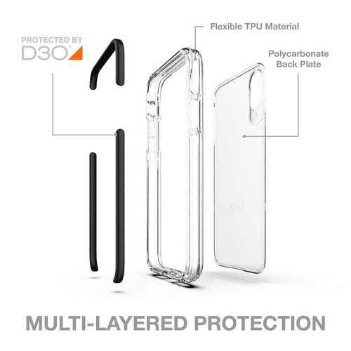 Gear4 Piccadilly Klarsichthülle mit verbessertem Stoßschutz [D3O-geschützt], schlankes, robustes Design – Bild 23