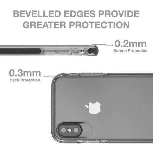 Gear4 Piccadilly Klarsichthülle mit verbessertem Stoßschutz [D3O-geschützt], schlankes, robustes Design – Bild 25