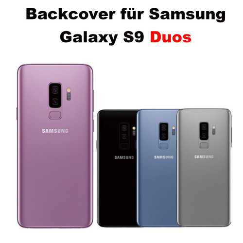 Samsung Galaxy S9 G950F battery cover glass back cover DUOS – Bild 1