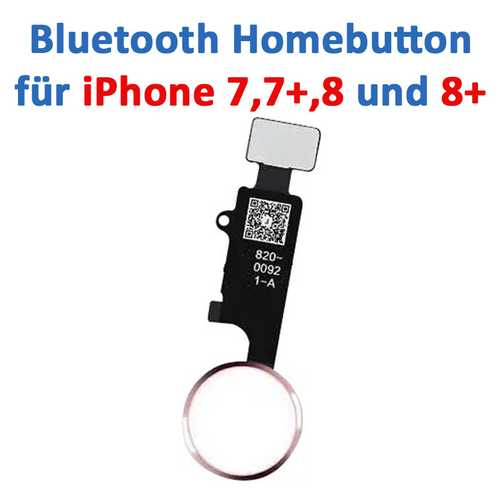 Home-Button suitable for iPhone 7 / 8 / 7+ / 8+ (easy exchange, all button functions working) – Bild 4