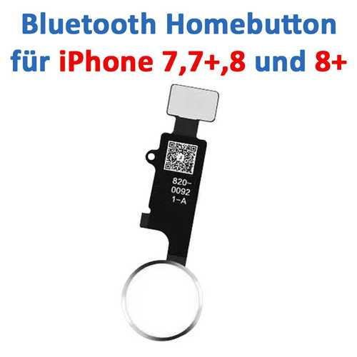 Home-Button suitable for iPhone 7 / 8 / 7+ / 8+ (easy exchange, all button functions working) – Bild 6